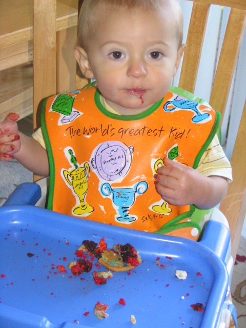 Elmo Cookie After